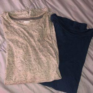 Two short sleeve tee shirts